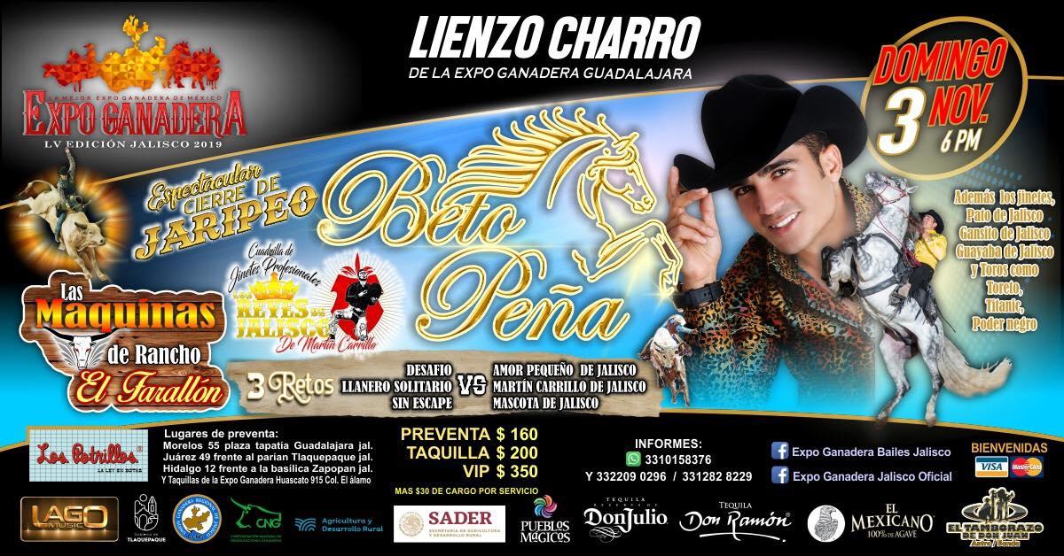 Beto Peña Expo Ganadera 2019