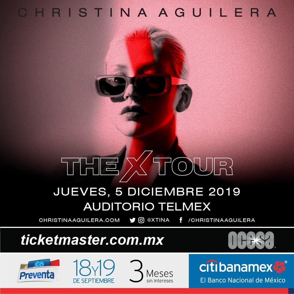 Christina Aguilera The X Tour