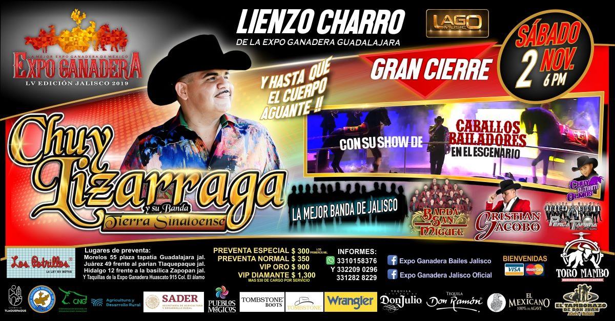 Chuy Lizarraga Expo Ganadera
