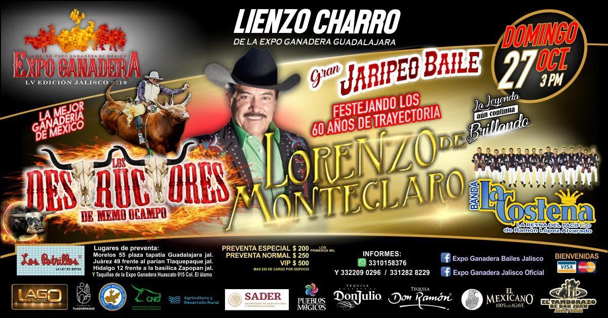 Lorenzo de Monteclaro Expo Ganadera 2019