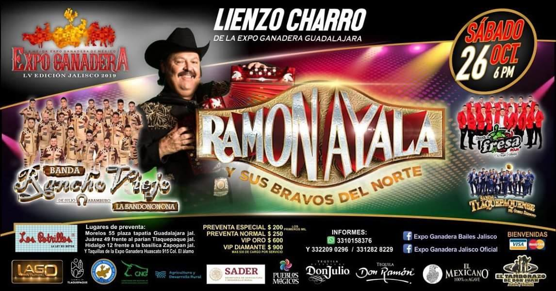 Ramon Ayala Expo Ganadera Jalisco 2019