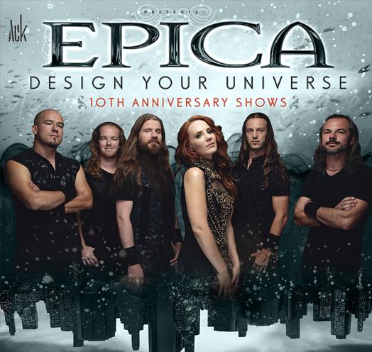Epica Design Your Universe Teatro Diana 2019