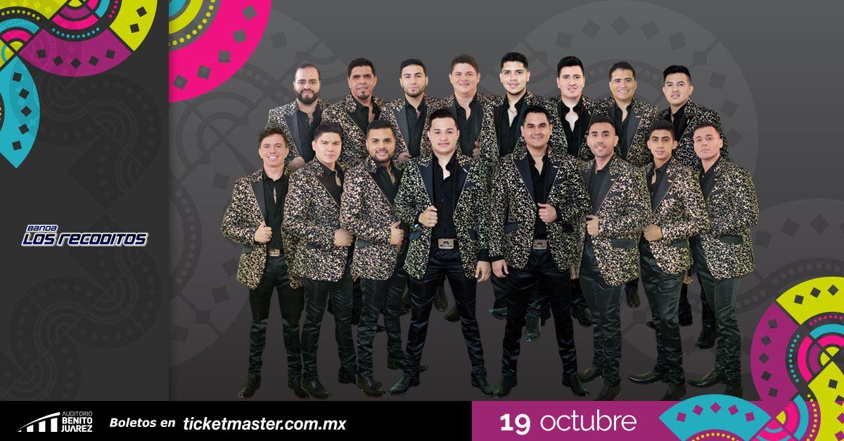 Banda Los Recoditos Fiestas de Octubre 2019