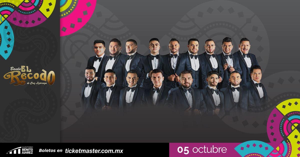 Banda El Recodo Fiestas de Octubre 2019