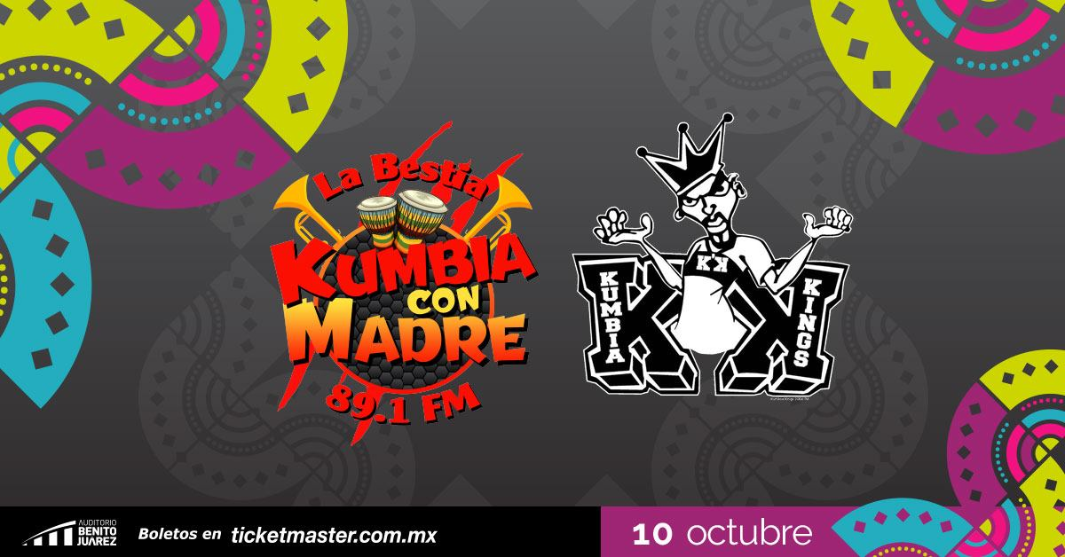 Kumbia Kings Fiestas de Octubre 2019