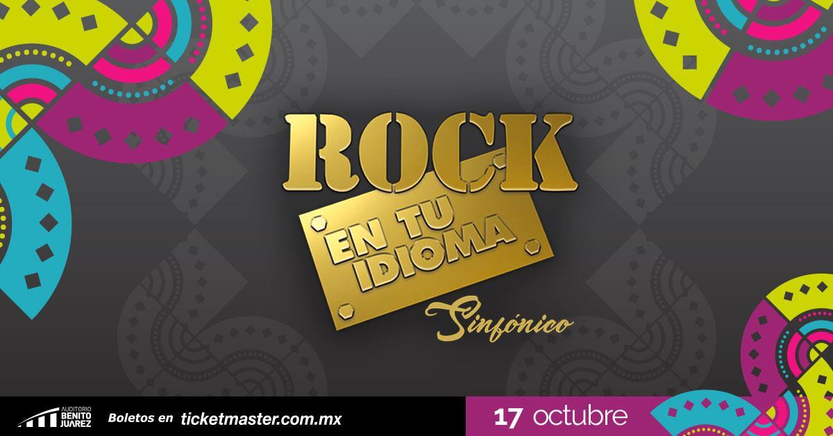 Rock en tu Idioma Sinfonico Fiestas de Octubre 2019