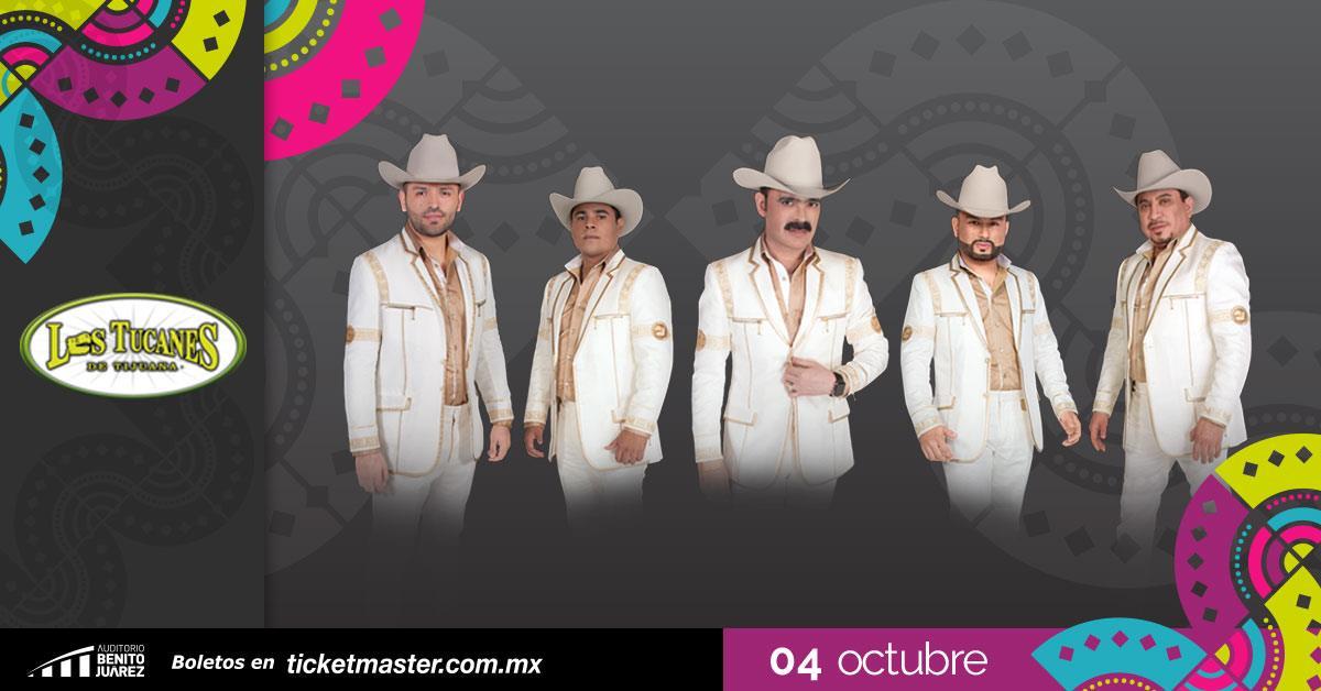 Los Tucanes de Tijuana Fiestas de Octubre 2019