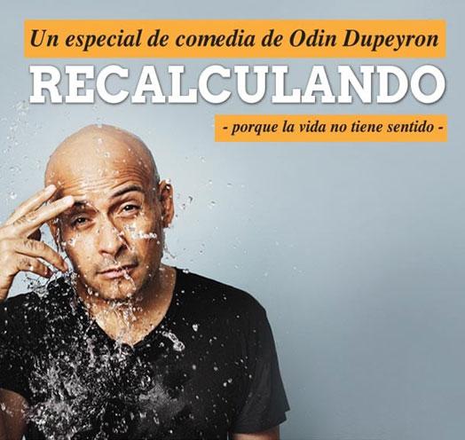 Odin Dupeyron Recalculando Teatro Diana