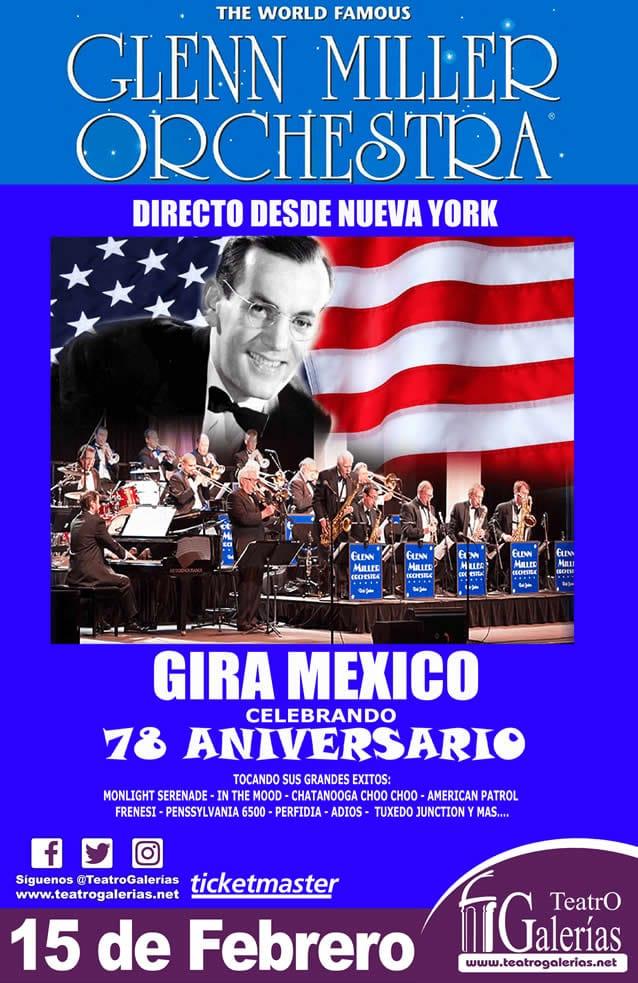 Glenn Miller Orchestra Guadalajara Febrero 2020