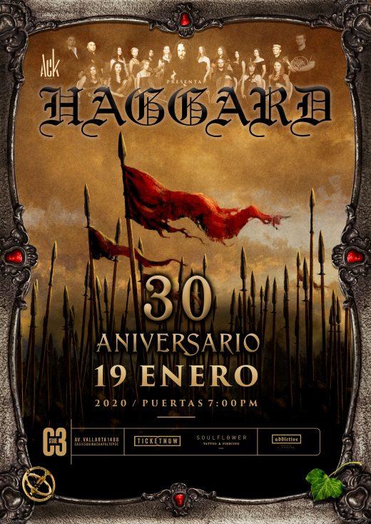 Haggard en Guadalajara - C3 Stage