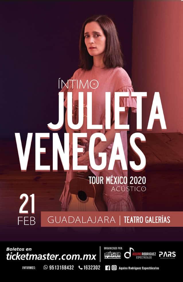 Julieta Venegas Guadalajara Febrero 2020