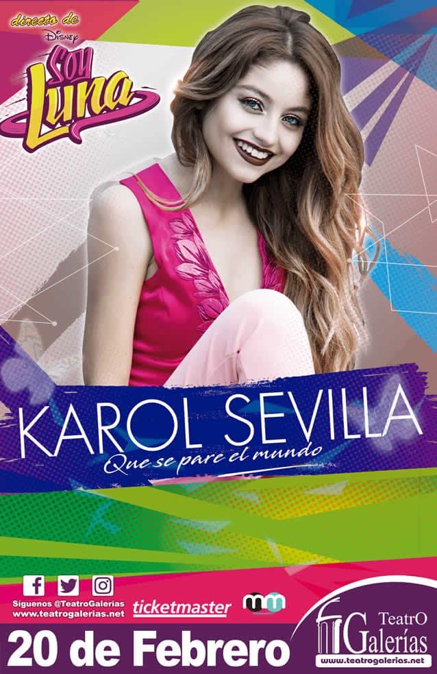 Karol Sevilla Guadalajara Febrero 2020