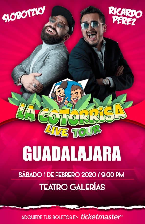 La Cotorrisa Guadalajara Febrero 2020 Teatro Galerias