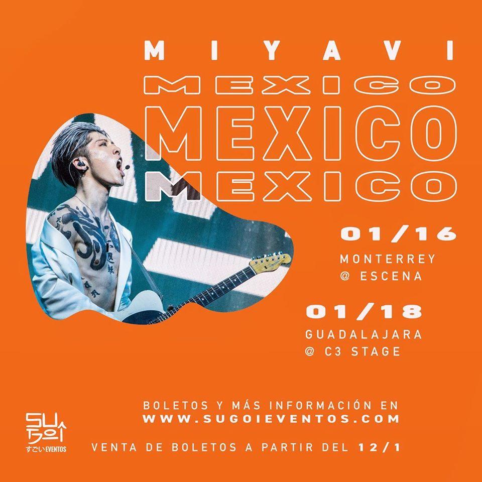 Miyavi en Guadalajara - C3 Stage