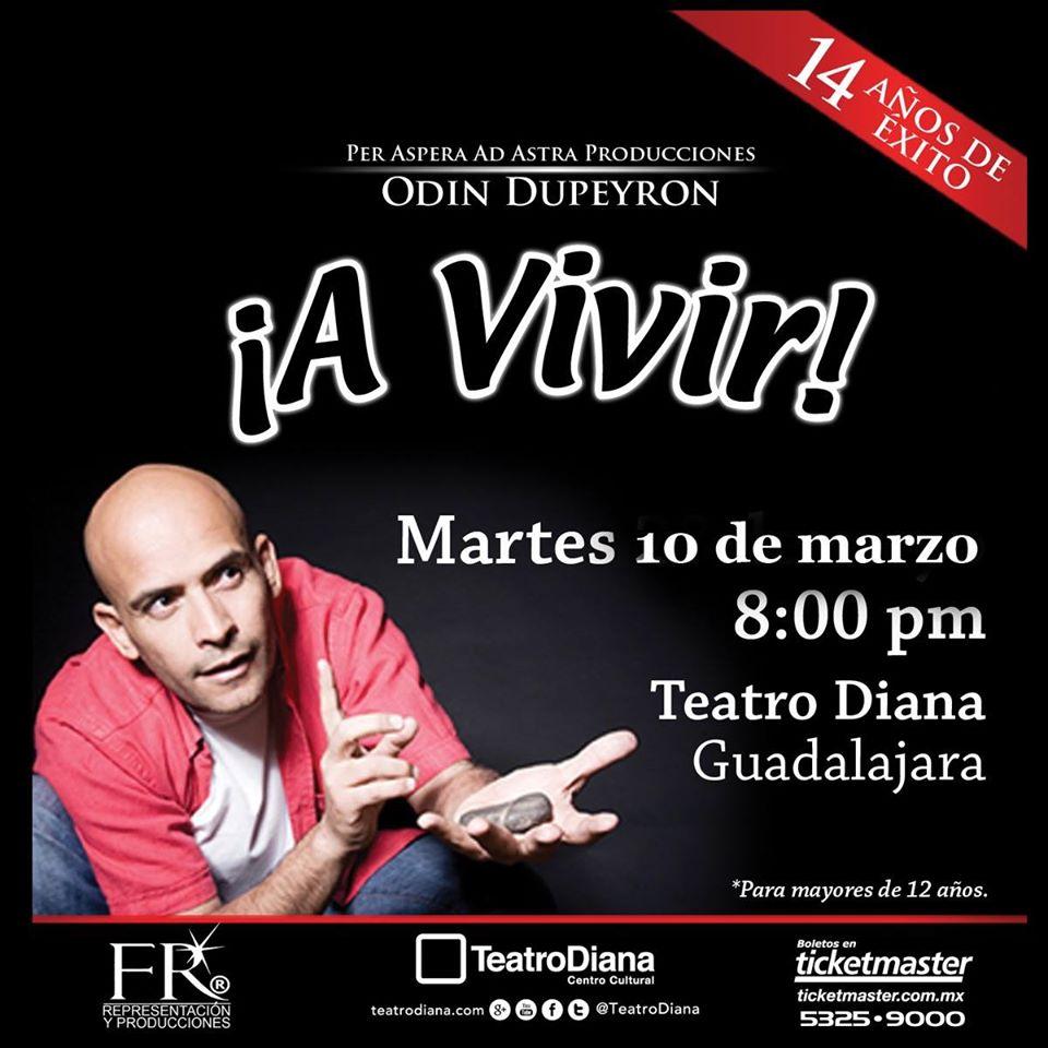 Odin Dupeyron Guadalajara Teatro Diana 2020