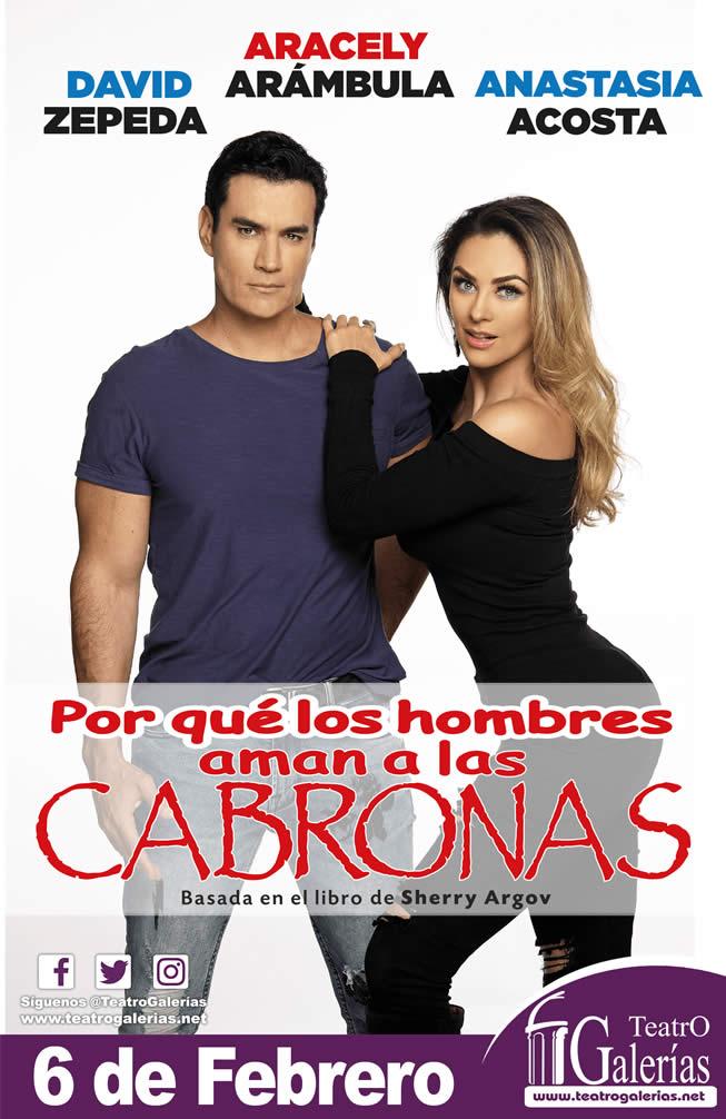 Por qué los hombres aman a las cabronas Guadalajara Febrero 2020 Teatro Galerías