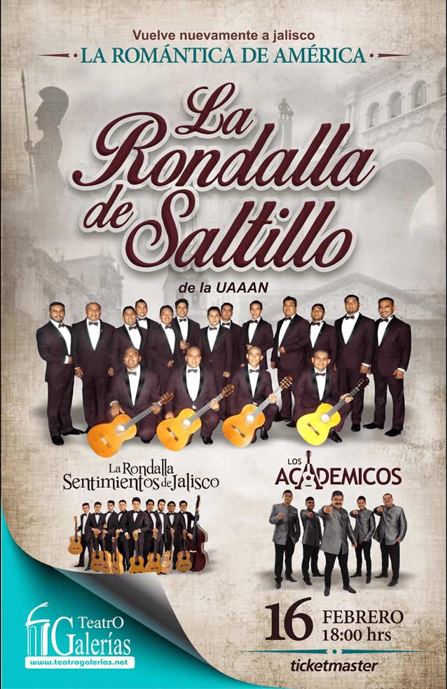 Rondalla de Saltillo Guadalajara Feberero 2020
