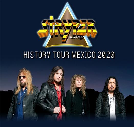 Stryper Febrero 2020 Teatro Diana