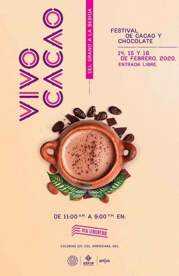 Vivo Cacao Festival Chocolate Guadalajara Febrero 2020