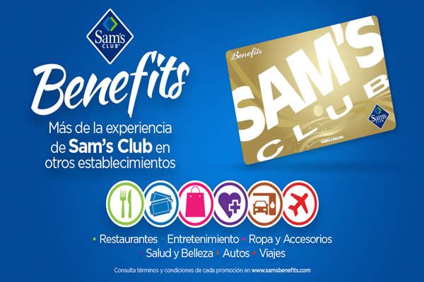 Membresia Sams Benefits