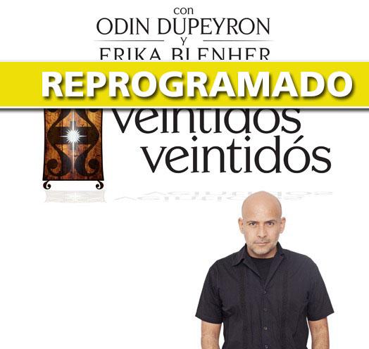 Odín Dupeyron - Veintidós Veintidós - Teatro Diana 2020