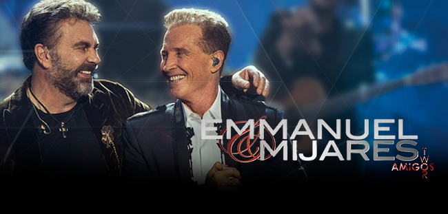 Emmanuel y Mijares - Amigos | Auditorio Telmex